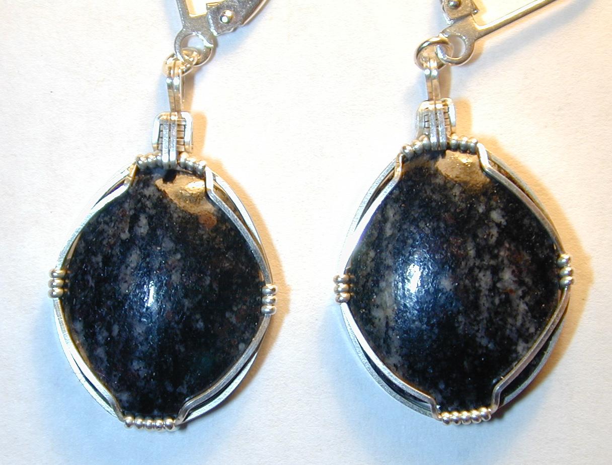 Acasta gneiss earrings